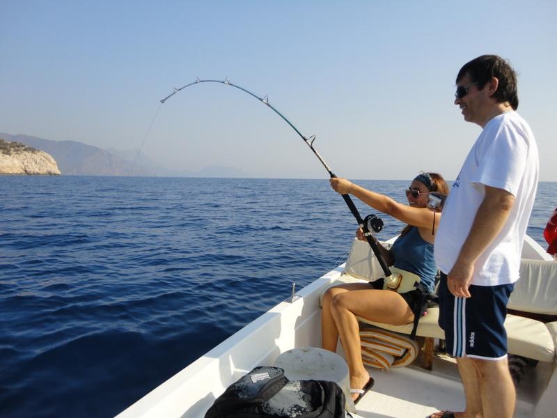 Balık Avı Videoları - Trofe Balık Avında Çıkrık Makine Kullanımı